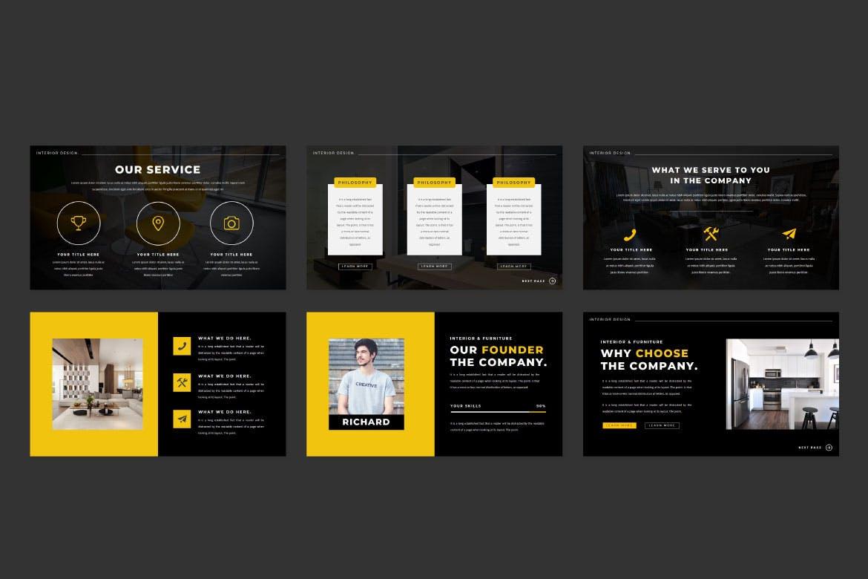 现代简约企业营销策划提案简报演示文稿设计模板 TheKraft – Keynote Presentation Templates插图4