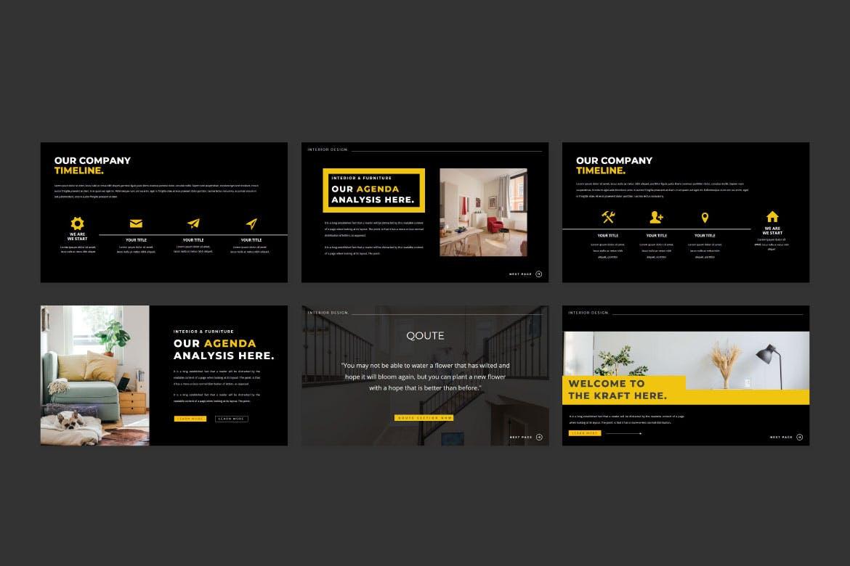 现代简约企业营销策划提案简报演示文稿设计模板 TheKraft – Keynote Presentation Templates插图5