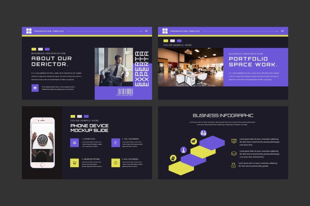 潮流企业营销策划提案简报演示文稿设计模板 EXPERTA Powerpoint Template插图5