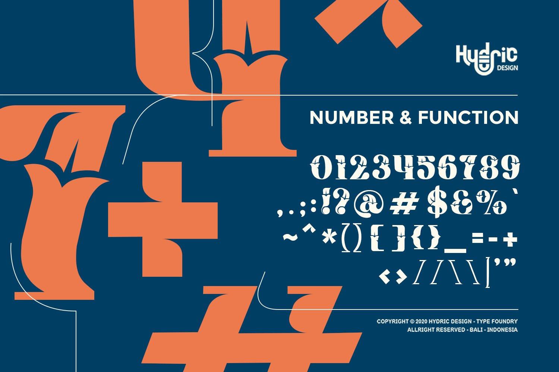 优雅海报标题徽标Logo设计花卉装饰英文字体下载 Kyra Vaglo Font插图5