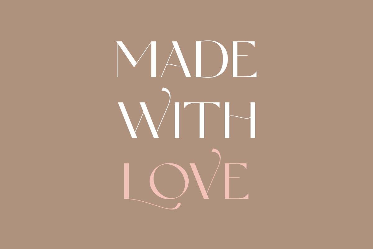 现代优雅奢华杂志海报标题品牌logo设计衬线英文字体 Anabele  Modern Stylish插图7