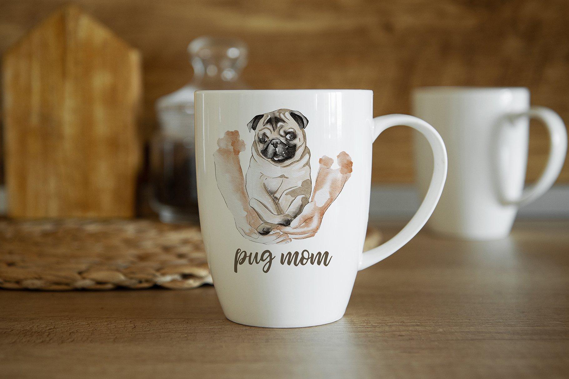 15个陶瓷马克咖啡杯印花图案设计展示贴图样机合集 Coffee Mug Mockup Set插图4