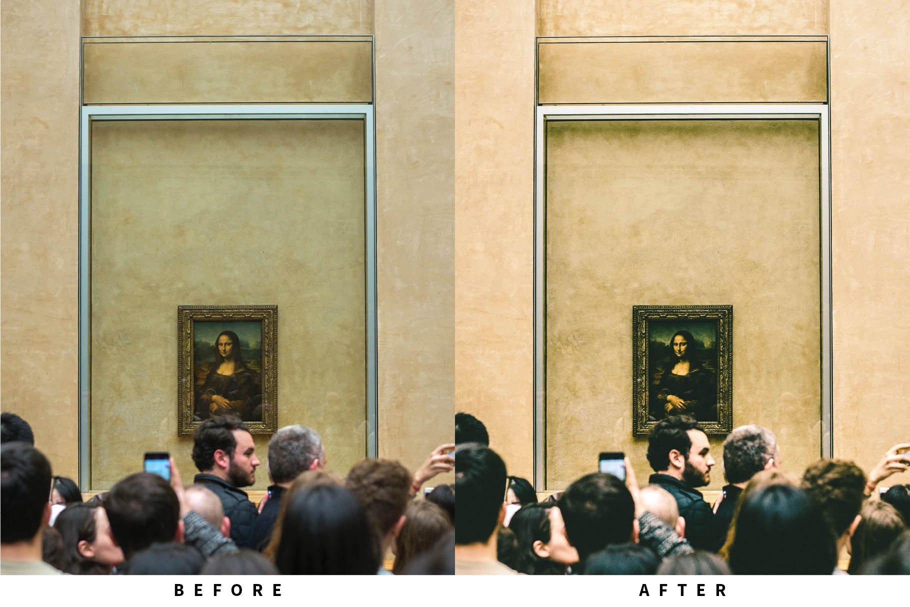 10个复古哑光人像摄影照片调色滤镜LR预设模板 10 Matte Film Lightroom Presets插图2