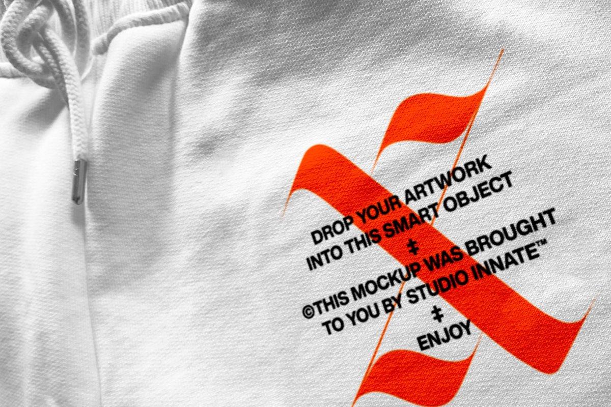 潮流跑步运动裤印花图案设计贴图样机套装 Sweatpants – Mockup Bundle插图1