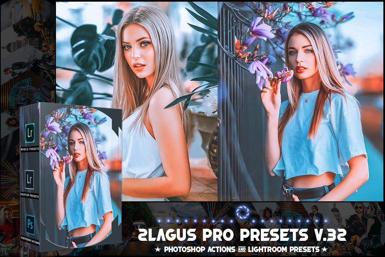 卡通锐化照片处理LR预设模版 PRO Presets – V 32 – Photoshop & Lightroom插图