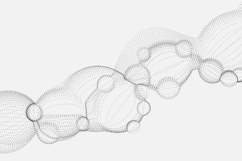 10款艺术抽象颗粒气泡粒子科幻背景底纹矢量设计素材 Bubble Particles Vector Backgrounds插图10