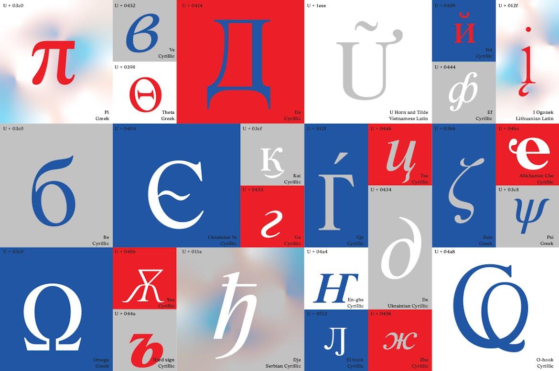 时尚复古海报标题徽标Logo设计衬线英文字体素材 BD Megalona | Text Serif Font Family插图1