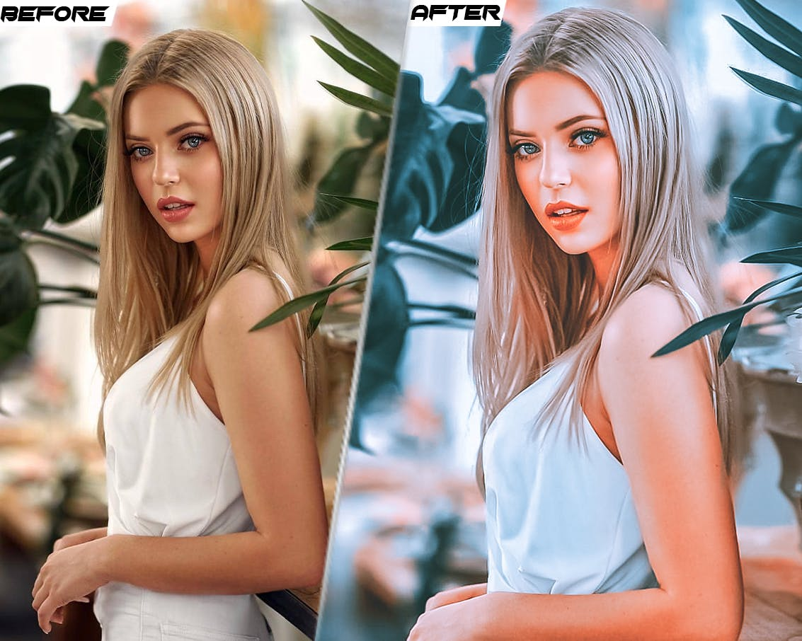 卡通锐化照片处理LR预设模版 PRO Presets – V 32 – Photoshop & Lightroom插图1