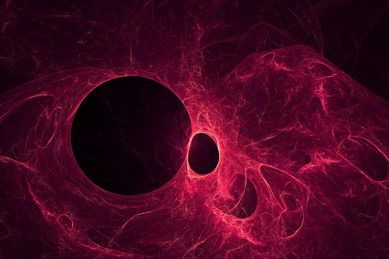 10款抽象未来派科幻宇宙黑洞背景图片素材 Black Hole Backgrounds插图2