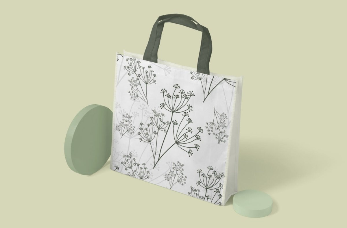 精美花卉树叶艺术矢量线条无缝隙图案设计素材 Floral Lineart Seamless Pattern插图7